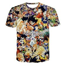 DRAGON BALL Z ANIME CHARACTER GOKU VEGETA VILLAIN T-SHIRT MENS UNISEX