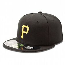 New Era 5950 59Fifty Pittsburgh Pirates On-FIeld Fitted Cap Various Sizes
