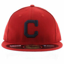 New Era 5950 59FIFTY Cleveland Indians Alt On-Field Fitted Cap Hat Size 7-1/2