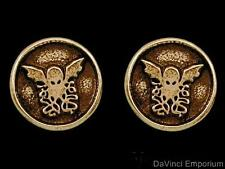 Cthulhu Stud Earrings H.P. Lovecraft 14k Gold