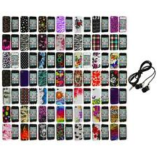 Design Color Hard Snap-On Skin Case Accessory+Headphones for iPhone 4 4G 4S