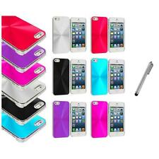 Chrome Aluminum Hard Luxury Case Cover Accessory+Metal Pen for iPhone 5 5S
