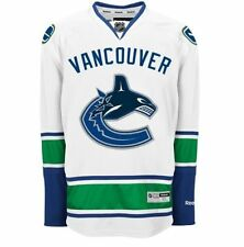 Vancouver CANUCKS Reebok Premier Officially Licensed NHL Jersey,