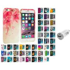 For Apple iPhone 6 PLUS 5.5 TPU Design Silicone Case Cover USB Charger