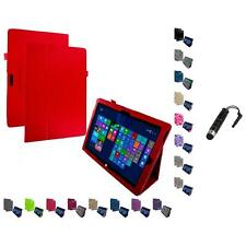For Microsoft Surface Pro 3 Tablet Folio Pouch Case Cover Stylus Plug