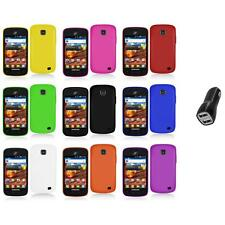 For Samsung Proclaim S720C Illusion Color Hard Matte Case Cover+2.1A Charger