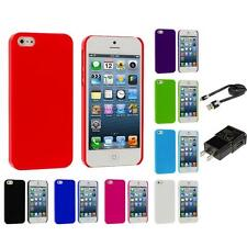 Ultra Thin High Gloss Hard Slim Back Cover Case for iPhone 5 5G Accessories