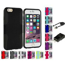 For Apple iPhone 6 (4.7) Hybrid Mesh Shockproof Skin Case Cover Accessories