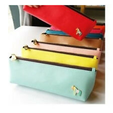 Leather Pencil Case Stationery Bags Pouch Stationery Kits Stationery Housing Bag