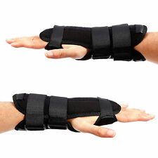 Carpal Tunnel Hand Wrist Brace Support Sprain Forearm Splint Band Strap