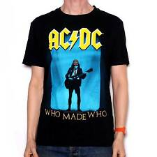 AC/DC T Shirt - Who Made Who 100% Official AC/DC Merchandise Classic Metal Tee!