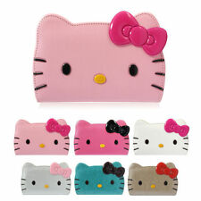 Hello Kitty Face Leather Protect Card Wallet Cover Case For LG Optimus G3 / Cat6