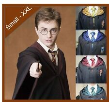 NEW HARRY POTTER YOUTH / ADULT CLOAK ROBE COSTUME - SIZE Small - XXL