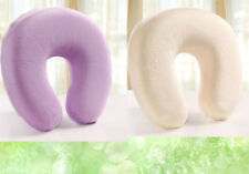 Color Memory Foam U-Shaped Office Travel Pillow Neck Support Head Free Cushion