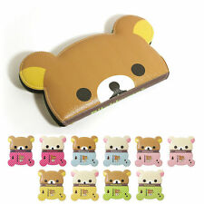 Rilakkuma Big Face Leather Protect Wallet Cover Case For LG Optimus G3 / Cat6