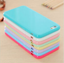 Candy Soft Gel TPU Silicon Phone Case Back Cover for Apple iPhone 5 5s 6 6s Plus