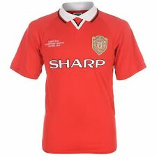 Score Draw Manchester United 1999 Champions League Shirt Jersey Mens Gents