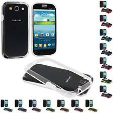 Color TPU Bumper Frame Case Cover Accessory for Samsung Galaxy S3 S III i9300