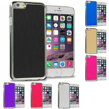 Brushed Aluminum Metal Luxury Hard Case Cover for Apple iPhone 6S Plus (5.5)