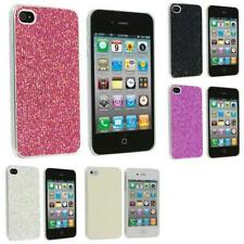 Color Bling Glitter Sparkly Ultra Thin Hard Back Cover for Apple iPhone 4 4G