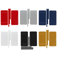 For iPhone 4 4G Carbon Fiber Sticker Wrap Full Skin Cover Protector Color