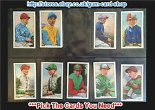 ☆ Gallaher - Famous Jockeys 1936 (Blue) (G) ***Pick The Cards You Need***