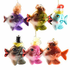 Fish Trailer Window Decor Christmas Tree Jewelry Decoration Fish Hanger