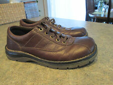 Mens DR MARTENS JOHN 5 Eye Lace Up Oxford Shoes Size 10 Very Good Condition