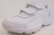 Girls Cica Clarks white leather trainers INF ROADSPRINT F fitting
