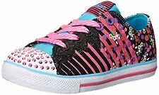 New Girl's Skechers 10466L Twinkle Toes Chit Chat Dizzy Dayz Light Up Shoes X429