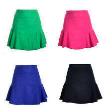 Hot Women Sexy Mini Slim Skirt Seamless Stretch Tight Short Fitted Candy Dress 1