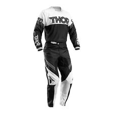 THOR Motocross Pants + Jersey 2016 - Phase Hyperion - black white