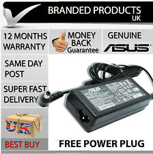Genuine Original Asus Laptop Notebook Square Power Supply AC Adapter Charger UK