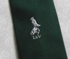 VINTAGE RUGBY FOOTBALL CLUB TIE RETRO 1970s 1980s DARK GREEN LXV BY COLOURTISE