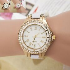 Sport Women's Stainless Steel Dial Band Analog Quartz Casual #IA Wrist Watch
