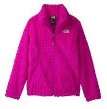 The North Face $90 Laurel Girls Fleece Jacket Pink Size S M L XL Coat Youth