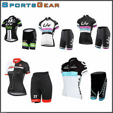 2016 Sport Team Bike Cycling Bicycle Short Sleeve Jersey Shorts Kit Castelli
