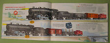 Vintage 1956 American Flyer Catalogue By Gilbert Featuring Diesel Roar Sound FX