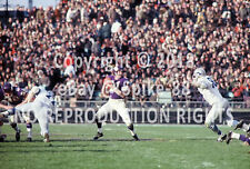 JOE KAPP #11 MINNESOTA VIKINGS PASSING VS. DETROIT LIONS 1969