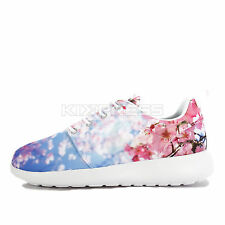 WMNS Nike Roshe One Cherry BLS [819960-100] NSW Casual Blossom White/Platinum