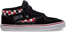VANS KIDS HALF CAB CHECKER BLACK MULTI YOUTH BOYS SHOES FREE DELIVERY AUSTRALIA