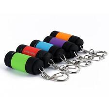 Rechargeable LED Light Flashlight Lamp Mini Torch USB Keychain Portable Hot Q25