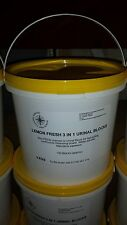 AMAZING VALUE 3kg (150 cubes)TUB OF CHANNEL CUBES 3 IN 1 URINAL BLOCKS TOILET
