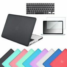 "Rubberized Hard Case Shell +Keyboard Cover for Macbook Pro 13/15"" Retina Air 13"""