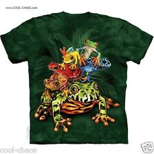 Weird Frogs T-Shirt/Frog Pile,Rainbow Frogs,Rainforest,Frog Lovers,Tie Dye Tee