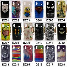 For Samsung Galaxy Ace S5830 5830 Hard Plastic Flag Superman Minions Cover Case