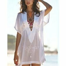 Sexy Women Sheer Chiffon Swimsuit Swimwear Bikini Cover Up Bathing Beach Dress