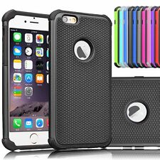 For Apple iPhone 6 6s Plus Hybrid Shockproof Hard Rugged Rubber Case Cover Shell