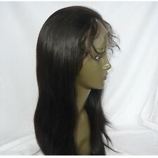 NEW! lace front full wig wigs 100% indian remy human hair silky straight 12''16'