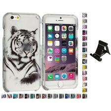 For Apple iPhone 6 PLUS 5.5 Design Hard Snap-On Case Cover Stand Mount